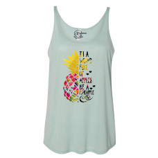 Be a Pineapple Slouchy Tank