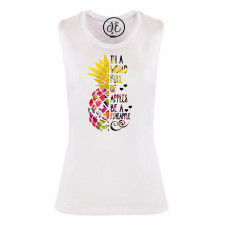 Be a Pineapple Festival Muscle Tank