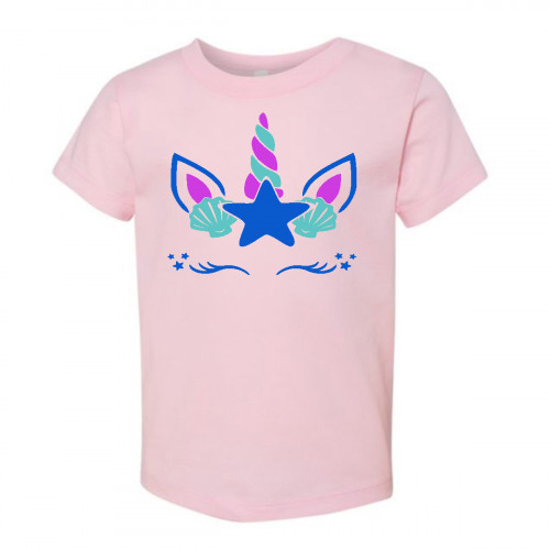 Beach Unicorn Toddler T-Shirt