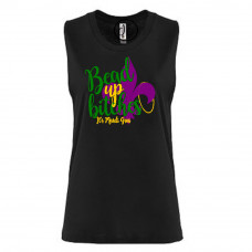 Bead Up Bitches Festival Muscle Tank