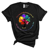 Beautiful Leaves Crew Neck T-Shirt