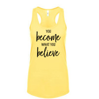 Become and Believe TANK TOP