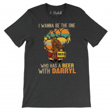 Beer With Darryl Crew Neck T-Shirt