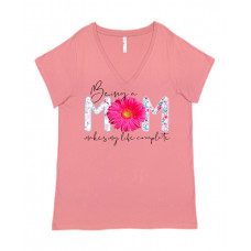 Being a Mom Curvy Collection V-Neck