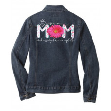 Being a Mom Jean Jacket