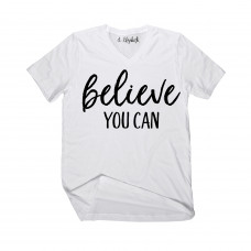 Believe You Can V-Neck