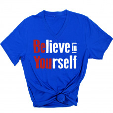 Believe in Yourself V-Neck T-Shirt