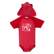 Best Christmas Gift Ever Onesie with Ears - Parental Hope