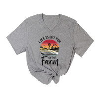 Better on the Farm V-Neck