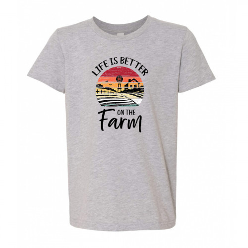 Better on the Farm Youth T-Shirt
