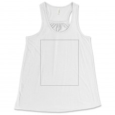 White Relaxed Fit Tank Top BYOT