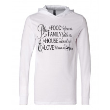 Bless Our Family Lightweight Hoodie