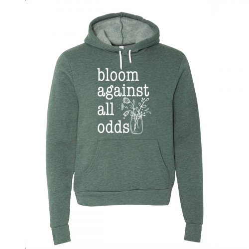 Bloom Against All Odds Fleece Hoodie - Parental Hope