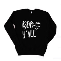 Boo Y'All Unisex Drop Sleeve Sweatshirt