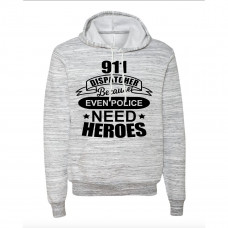 911 DISPATCHER FLEECE HOODIE