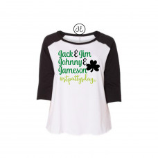 Boys of St.Patrick's Day Curvy Collection Raglan