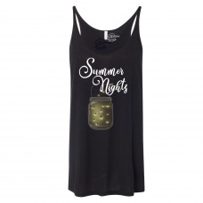 Bright Summer Nights Slouchy Tank