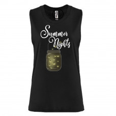 Bright Summer Nights Festival Muscle Tank