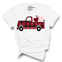 Buffalo Plaid Valentine T-Shirt