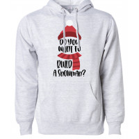 Build a Snowman Fleece Hoodie
