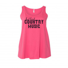 But First Country Music Curvy Collection Tank