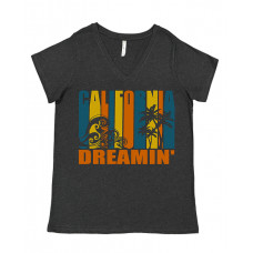 California Deamin' Curvy Collection V-Neck