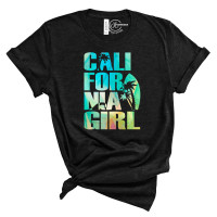 California Girl Crew Neck T-Shirt