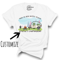Campground Customizable Crew Neck T-Shirt