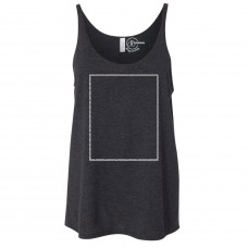 Charcoal Black Slouchy Tank Top BYOT
