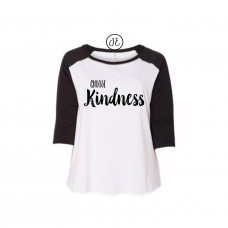 Choose Kindness Curvy Collection Raglan
