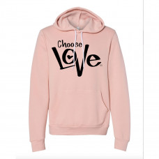 CHOOSE LOVE FLEECE HOODIE