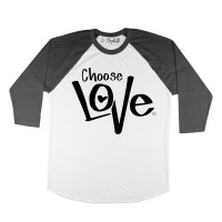 Choose Love Raglan