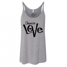 Choose Love Slouchy Tank