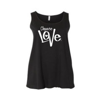 Choose Love Curvy Collection Tank