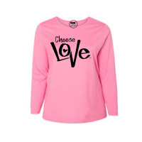 Choose Love Curvy Collection Long Sleeve