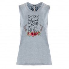Chosen and Redeemed Festival Muscle Tank