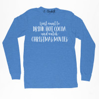 Christmas Movie and Hot Cocoa Long Sleeve