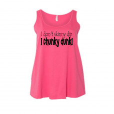 Chunky Dunk  Women's Curvy Collection Tank