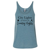 City Lights Country Nights Slouchy Tank