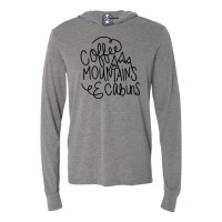 Coffee Mountains & Cabins Lightweight Hoodie