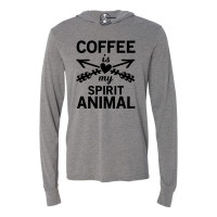 Coffee Spirit Animal Lightweight Hoodie