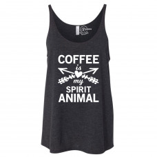 Coffee Spirit Animal Slouchy Tank