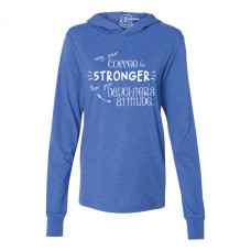 Coffee Stronger Than Your Daughter Lightweight Hoodie