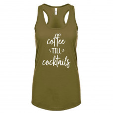 Coffee Till Cocktails Tank Top