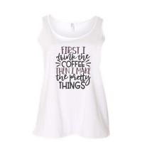 Coffee & Pretty Things Curvy Collection Tank
