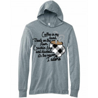 Coffee in My Hand Lightweight Hoodie