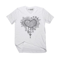 Spring Heart V-Neck - Color Your SOUL!