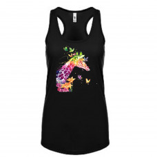 Colorful Giraffe Tank Top