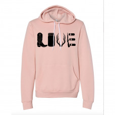 COUNTRY LOVE FLEECE HOODIE