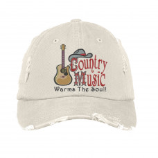 Country Music Warms the Soul Embroidered Hat